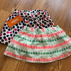 2T skirts nwot and NWT
